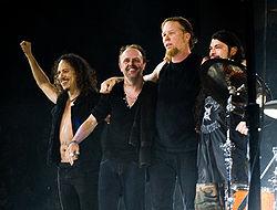 Metallica vendrá a Madrid en Julio